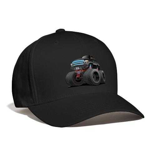 Monster Pickup Truck Cartoon - Baseball Cap