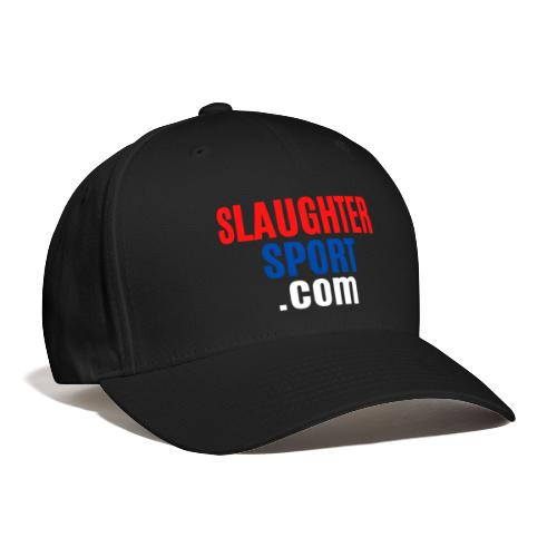 SLAUGHTERSPORT COM (Front & Back) - Baseball Cap