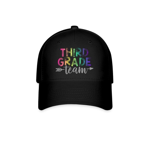 Third Grade Team Teacher T-Shirts Rainbow - Baseball Cap