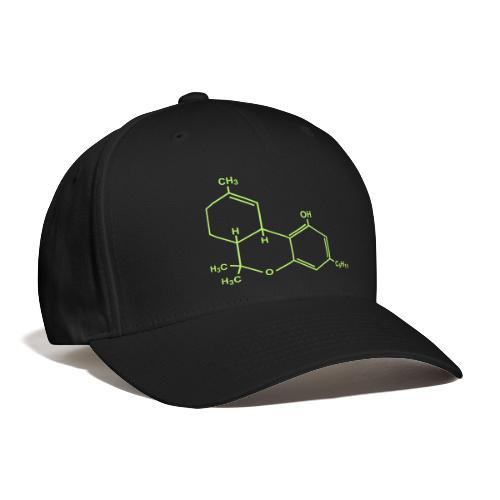 Marijuana (THC) Molecule - Baseball Cap