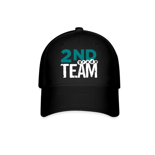 Bold 2nd Grade Team Teacher T Shirts - Baseball Cap