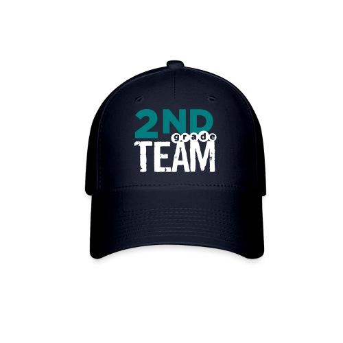 Bold 2nd Grade Team Teacher T Shirts - Baseball Cap