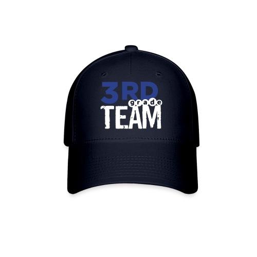 Bold 3rd Grade Team Teacher T-Shirts - Baseball Cap