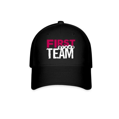 Bold First Grade Team Teacher T-Shirts - Baseball Cap