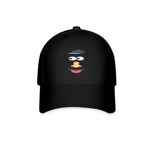 eyes nose - Baseball Cap