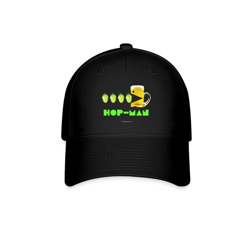 Hop Man Men's T-Shirt (Double Sided) - Baseball Cap