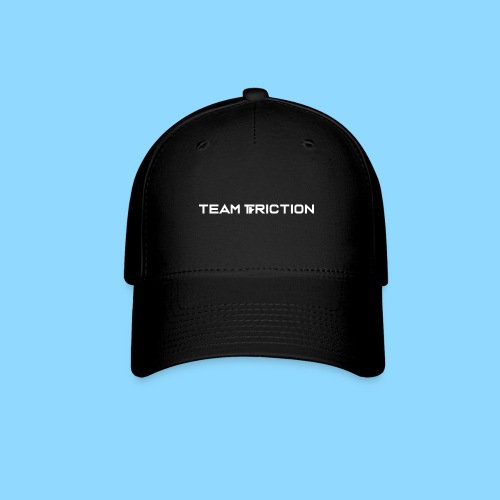 Team Friction Text Logo - Baseball Cap