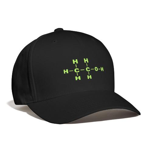 Alcohol Molecule - Baseball Cap