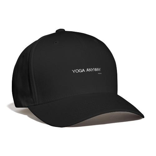 YOGA WHITE font - Baseball Cap