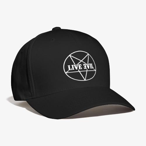 Live Evil OG Logo (White) - Baseball Cap