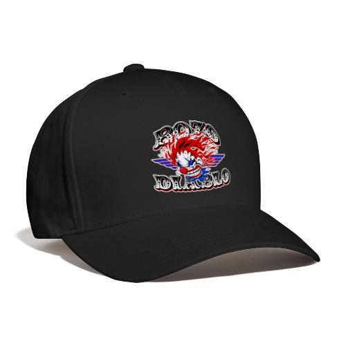 Bozo Diablo Crazy Clown Illustration - Baseball Cap