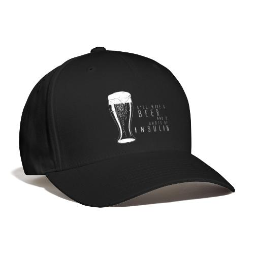 Beer and 2 Shots - Baseball Cap