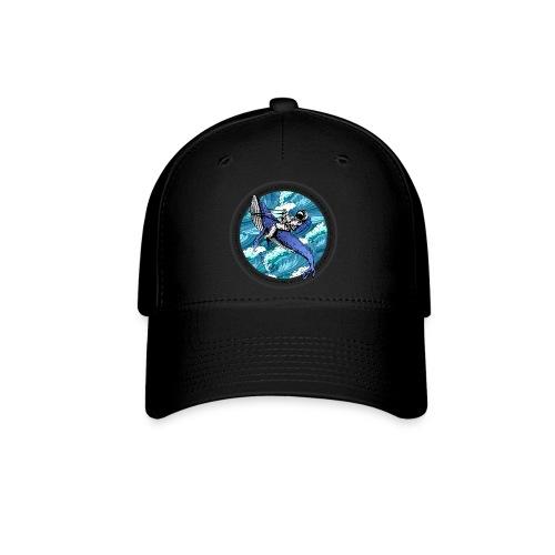 Astronaut Whale - Baseball Cap