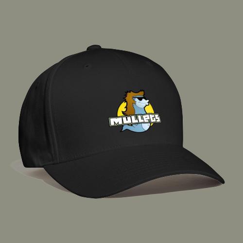 mullets logo - Baseball Cap