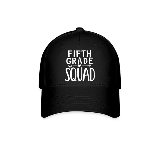 Fifth Grade Squad Teacher Team T-Shirts - Baseball Cap