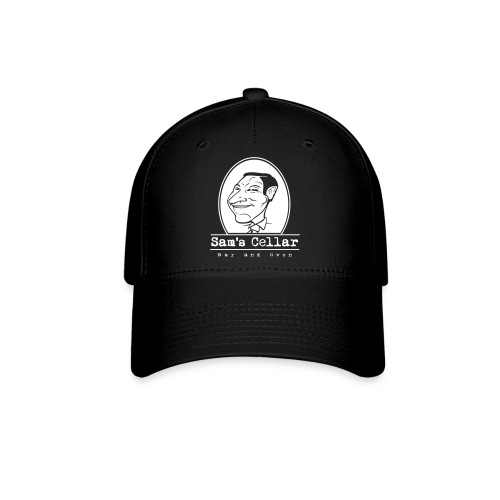 SamsCellar_White-logo - Baseball Cap
