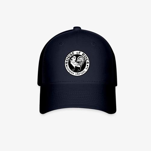 House of Rock round logo - Baseball Cap