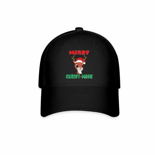 Merry Christmask Rudolph Red Nose Mask Reindeer. - Baseball Cap