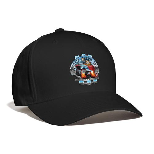 Custom Speed Shop Hot Rods and Muscle Cars Illustr - Baseball Cap