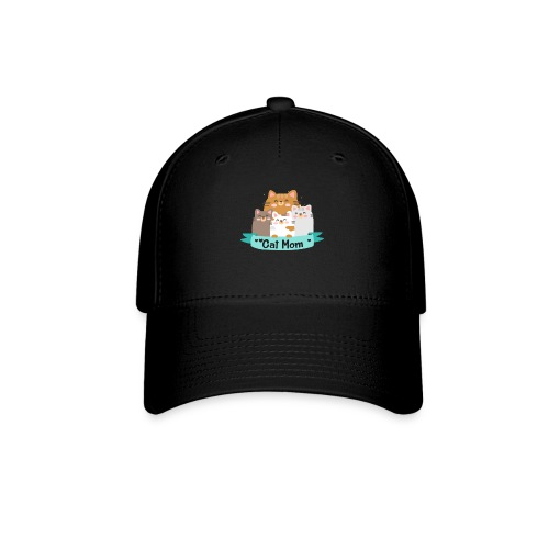 Cat MOM, Cat Mother, Cat Mum, Mother's Day - Baseball Cap