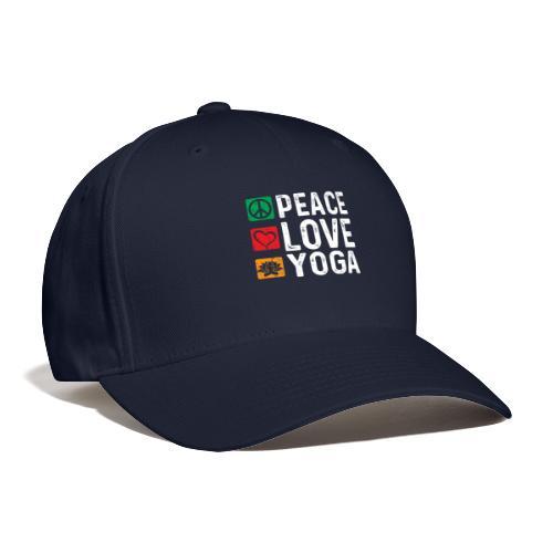 Peace Love Yoga - Baseball Cap