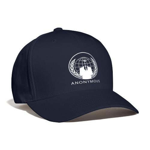 Anonymous 1 - White - Baseball Cap