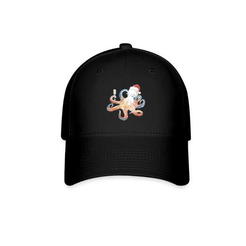 Christmas cephalopod - Baseball Cap