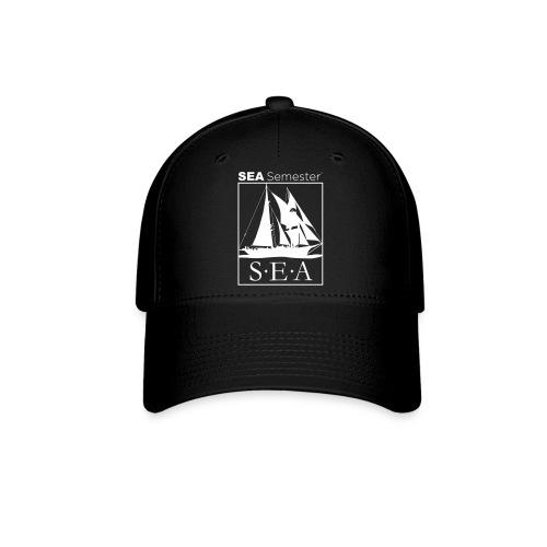 SEA_logo_WHITE_eps - Baseball Cap