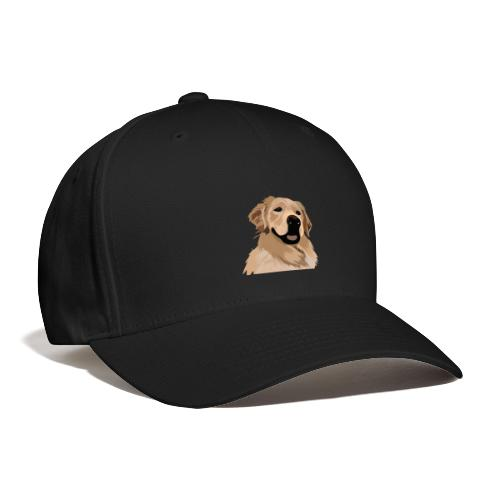 Hand illustrated golden retriever print / goldie - Baseball Cap