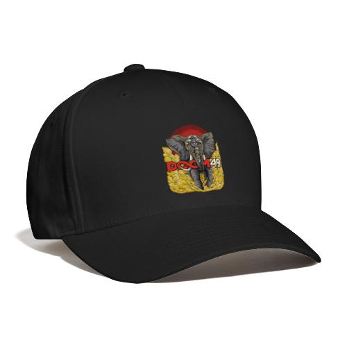 Yellow Smoke Elephant by DooM49 - Baseball Cap