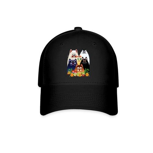 GARDEN CLOWDER of CATS - Baseball Cap