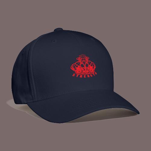 Red Hollow Bull - Baseball Cap
