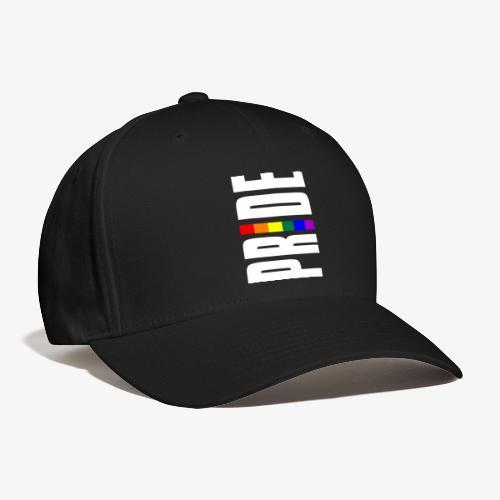 Vertical Pride with LGBTQ Pride Flag - Baseball Cap