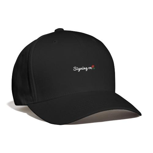 The Classic Signing On Print - Baseball Cap