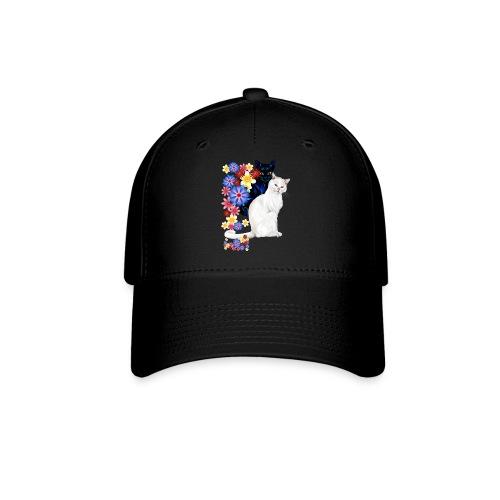 Black and White Garden Kitties.. - Baseball Cap