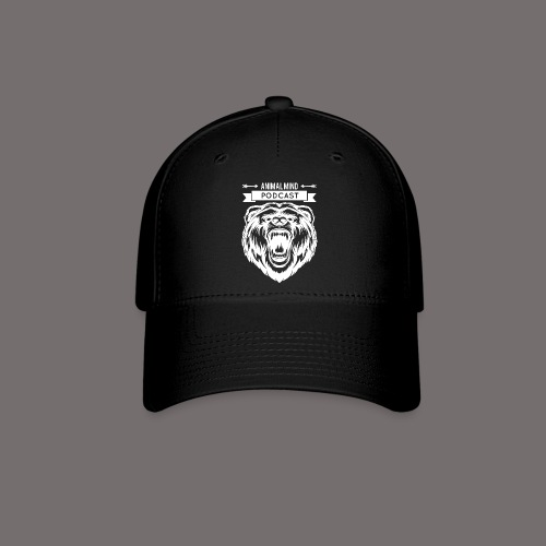 Animal Mind Podcast - Growling Bear Logo - Baseball Cap