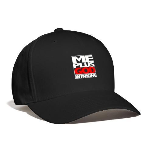 ME GOD WIN WHT - Baseball Cap