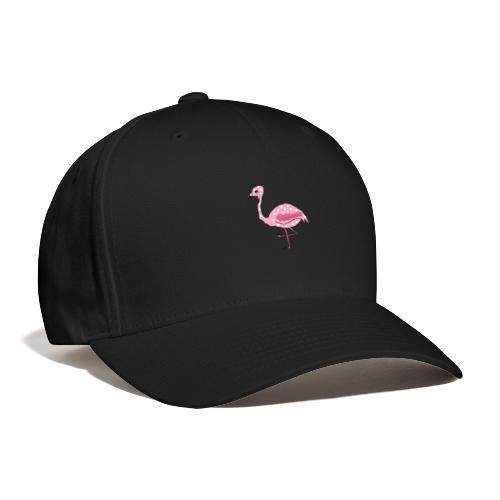 Polka Dotted Flamingo - Baseball Cap