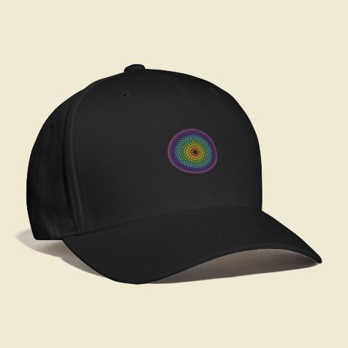 Torus Yantra Hypnotic Eye rainbow - Baseball Cap