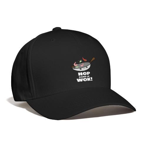 Logo Hop dans le Wok - Casquette de Baseball