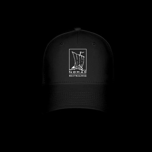 Nomad Boatbuilding Logo - Baseball Cap
