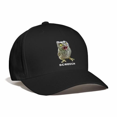 Screech Owl Patient at WildCare - Baseball Cap