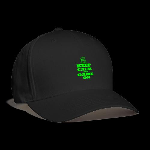 Keep Calm and Game On | Retro Gamer Arcade - Baseball Cap