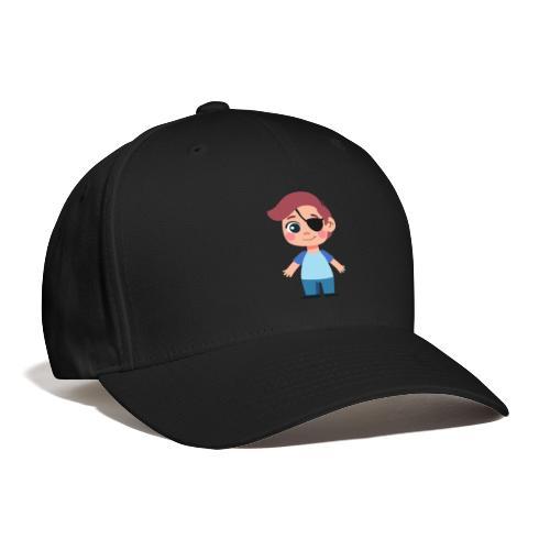 Boy with eye patch - Baseball Cap