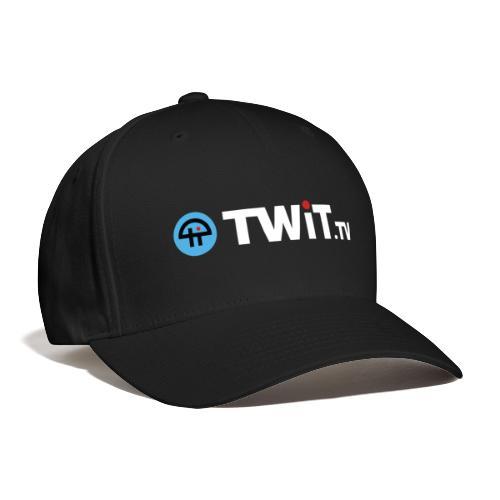 TWiTtv White Logo - Baseball Cap