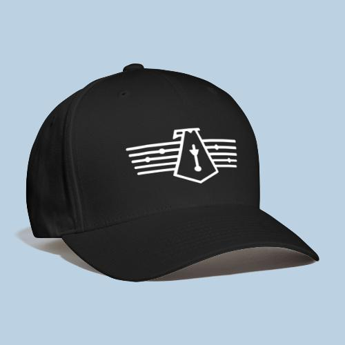 Westport Bird White on transparent - Baseball Cap