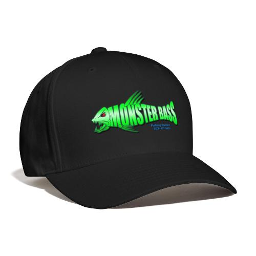 Monster bass fishing charters - Baseball Cap