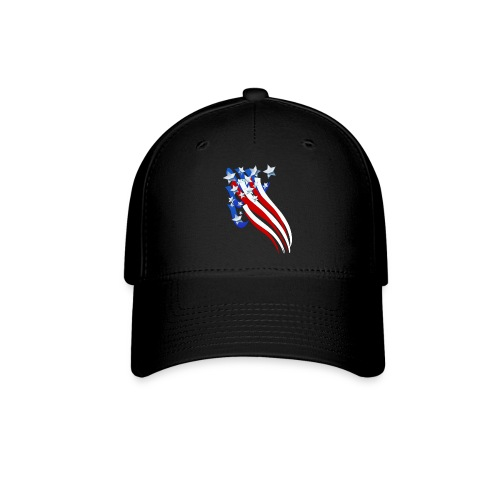 Sweeping Old Glory - Baseball Cap