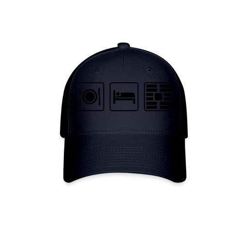 Eat Sleep Urb big fork - Baseball Cap