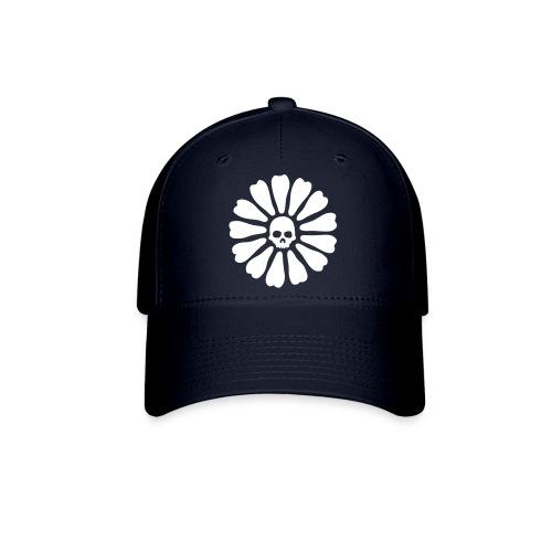 skull flower - Baseball Cap